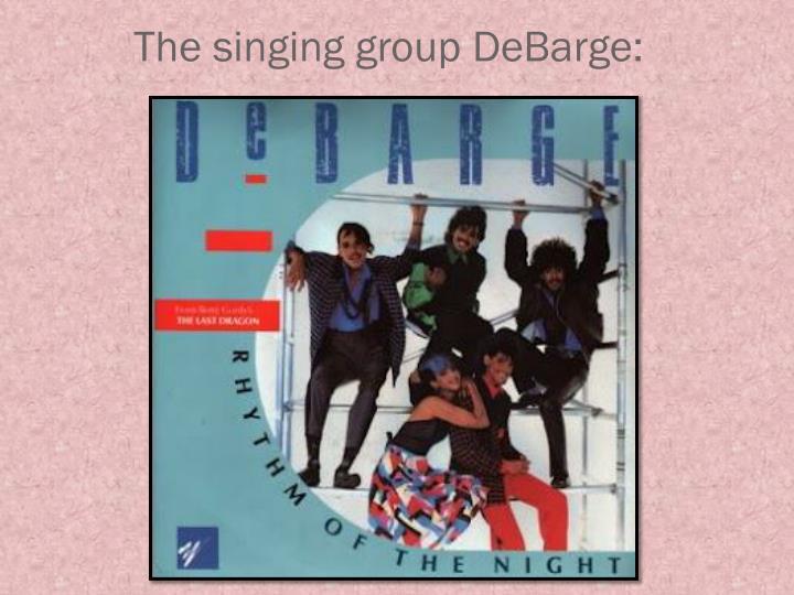 The singing group debarge