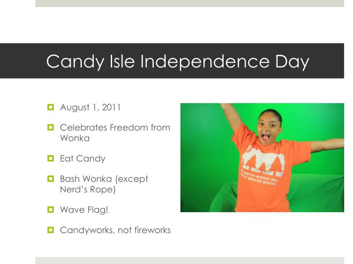 Candy Isle Independence Day