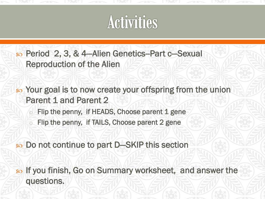 PPT - Genetics PowerPoint Presentation - ID:2050299
