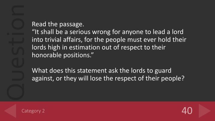 Read the passage.
