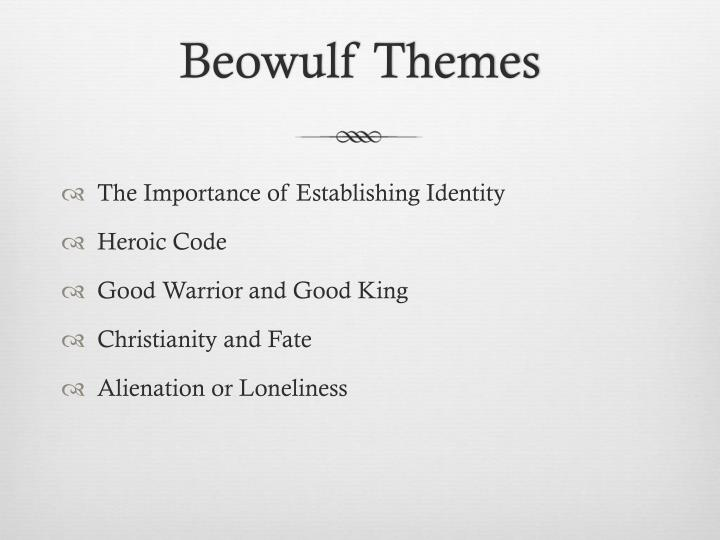 heroic and christian traits in beowulf Beowulf reveals the essential values of the heroic warrior culture that characterizes anglo-saxon and other early germanic societies their values uphold the warrior aristocracy, including loyalty and the high value placed on kinship.