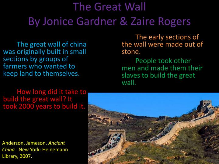 Did Europeans Build The Great Wall In China