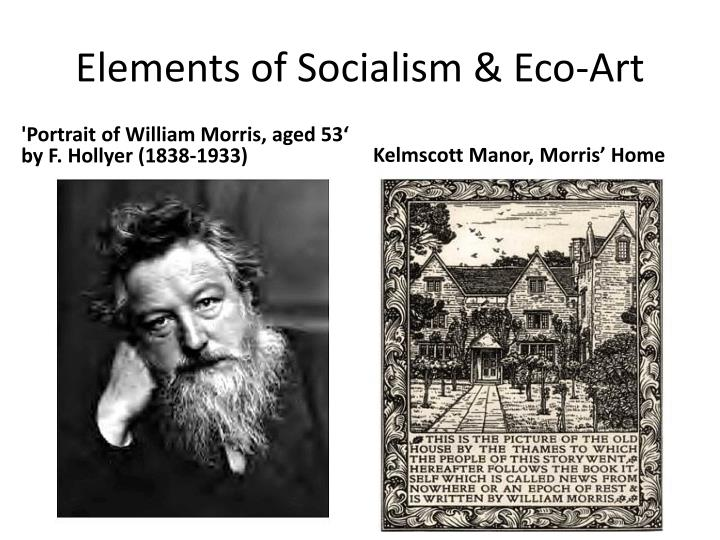Elements of socialism eco art