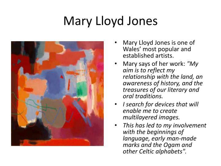 Mary Lloyd Jones