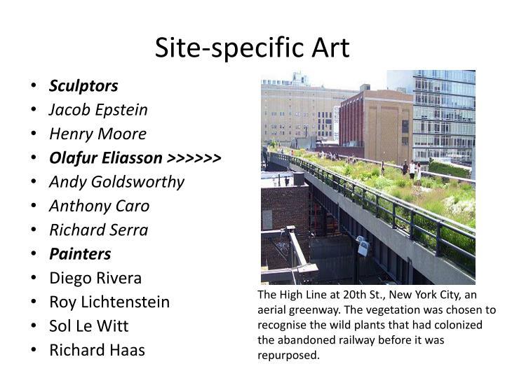Site-specific Art