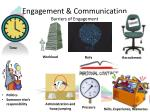 engagement communication barriers of engagement