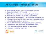 all change rents tenure
