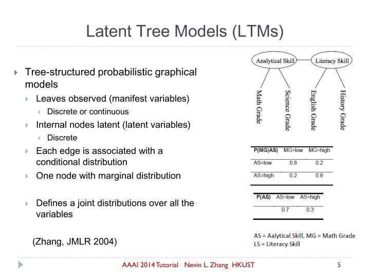 Latent Tree Models (LTMs)