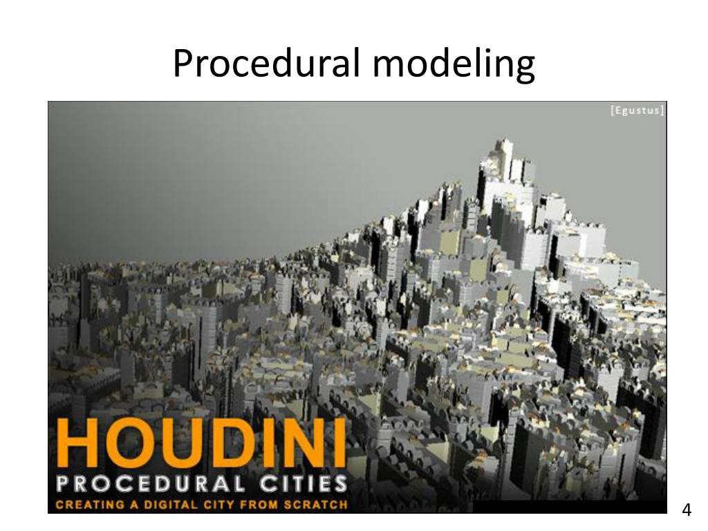 PPT - Procedural Modeling PowerPoint Presentation - ID:2052247