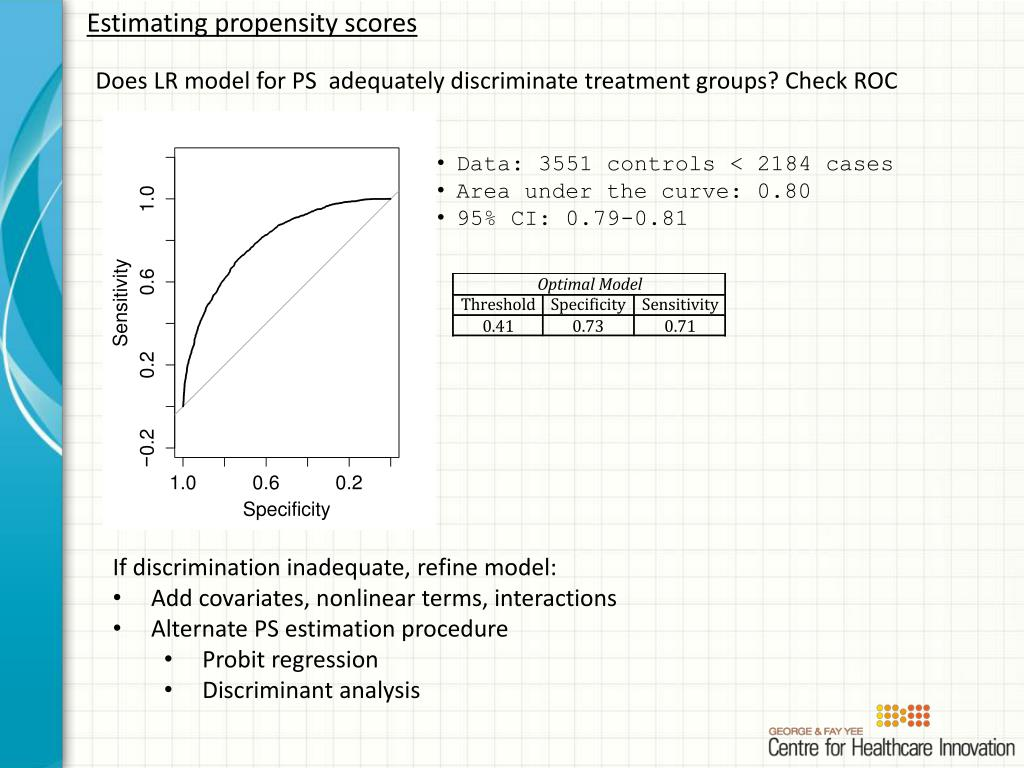 PPT - Propensity Scores Making Sense of Non-Randomized