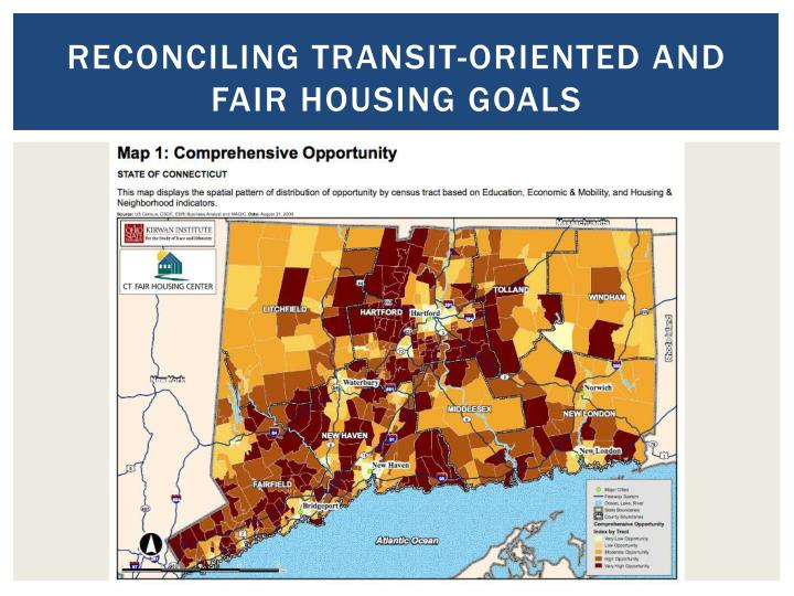 Reconciling transit-oriented