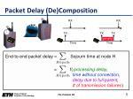 packet delay de composition