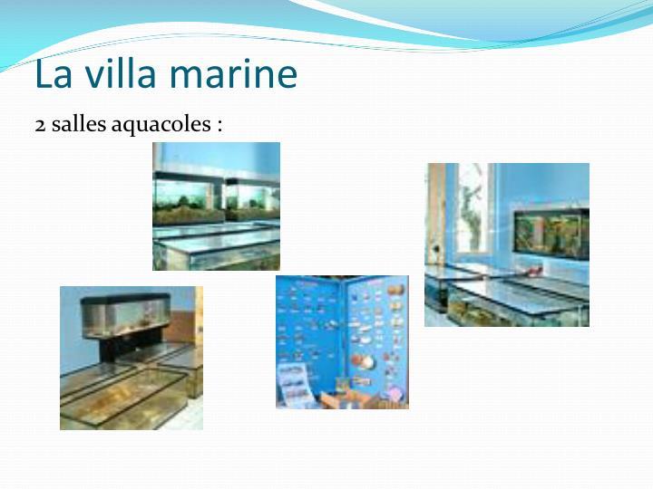 La villa marine