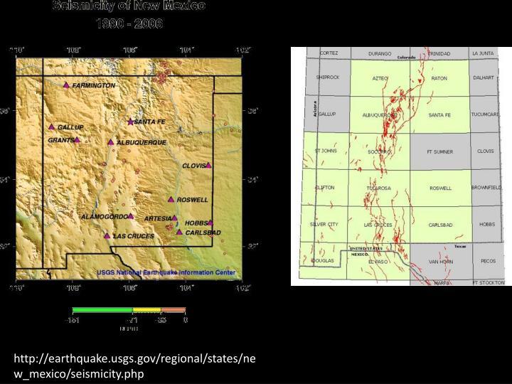 http://earthquake.usgs.gov/regional/states/new_mexico/seismicity.php