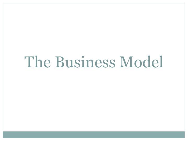 the business model n.