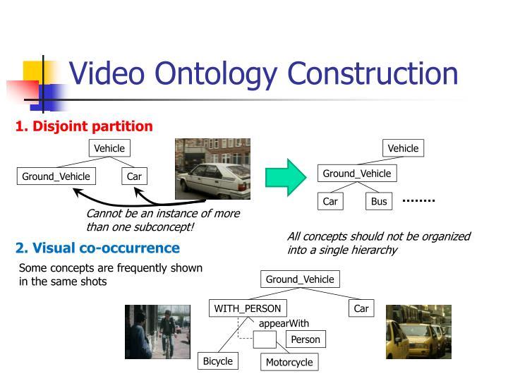 Video Ontology Construction
