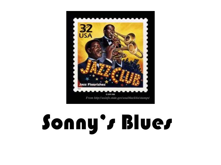 sonnys blues themes Suffering is a constant presence in sonny's blues from the death of the narrator's daughter to sonny's drug addiction to the cold-blooded murder of the narrator's uncle, suffering dominates the community suffering is, as sonny passionately argues, inescapable this suffering is symbolized.