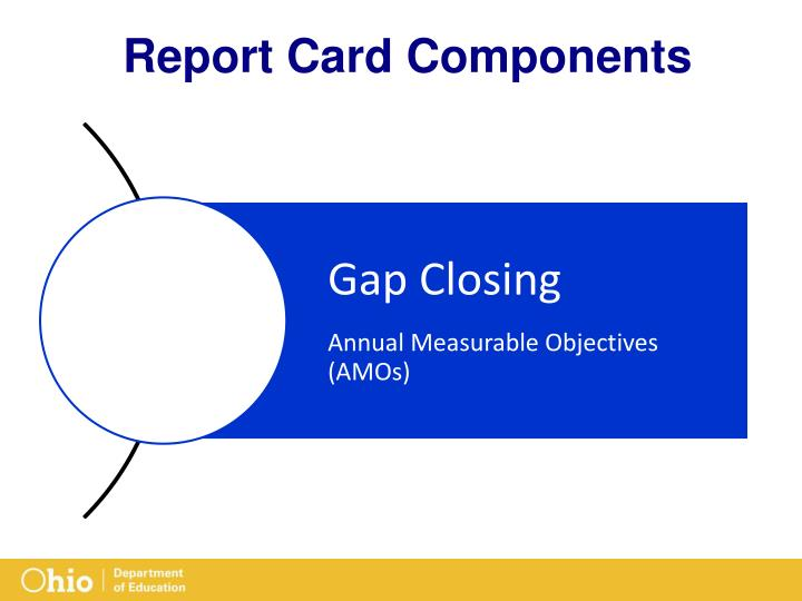Report Card Components