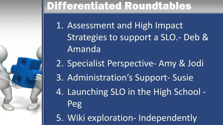 Differentiated Roundtables
