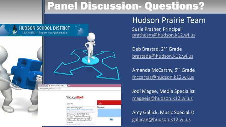 Panel Discussion- Questions?