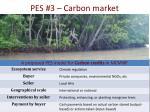 pes 3 carbon market