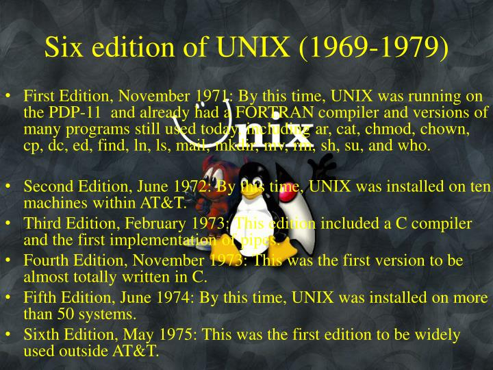 Ppt Unix Linux System Programming Powerpoint