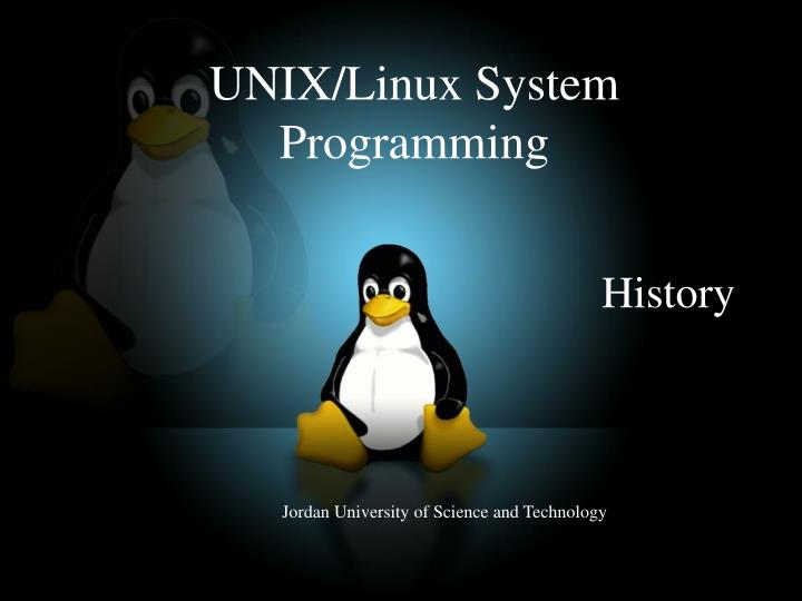 an introduction to the history of linux