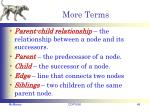 more terms