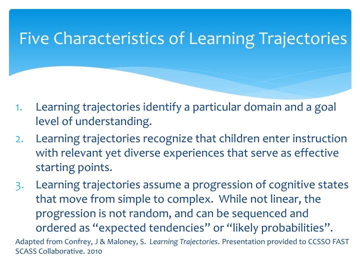 Five Characteristics of Learning
