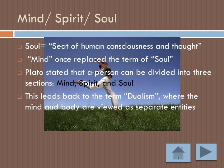 Mind/ Spirit/ Soul