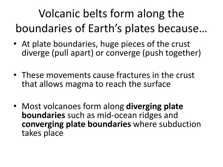 PPT - Volcanoes and Plate Boundaries PowerPoint Presentation - ID ...