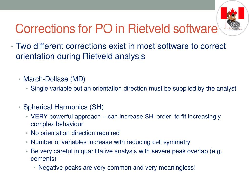 PPT - Sample Preparation, Data Collection and Phase-ID using
