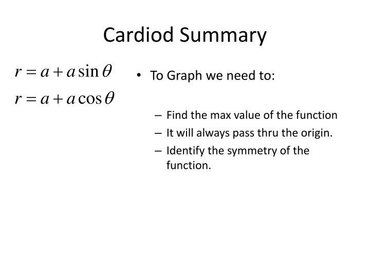 Cardiod