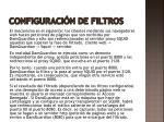 configuraci n de filtros1