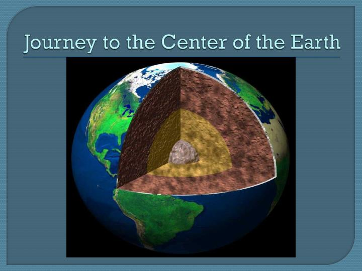 journey to the center of the earth n.