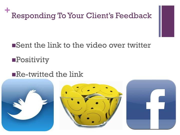 Responding To Your Client's Feedback