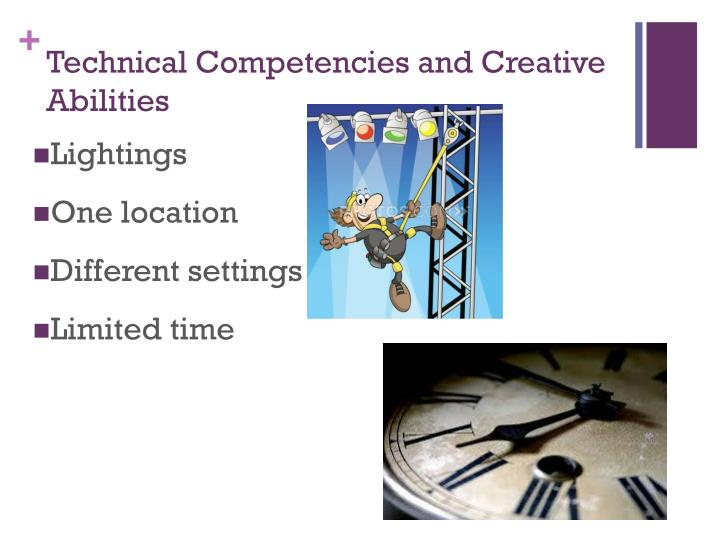 Technical Competencies and Creative Abilities