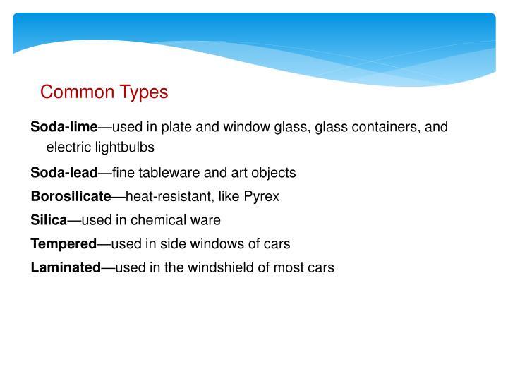 Common Types