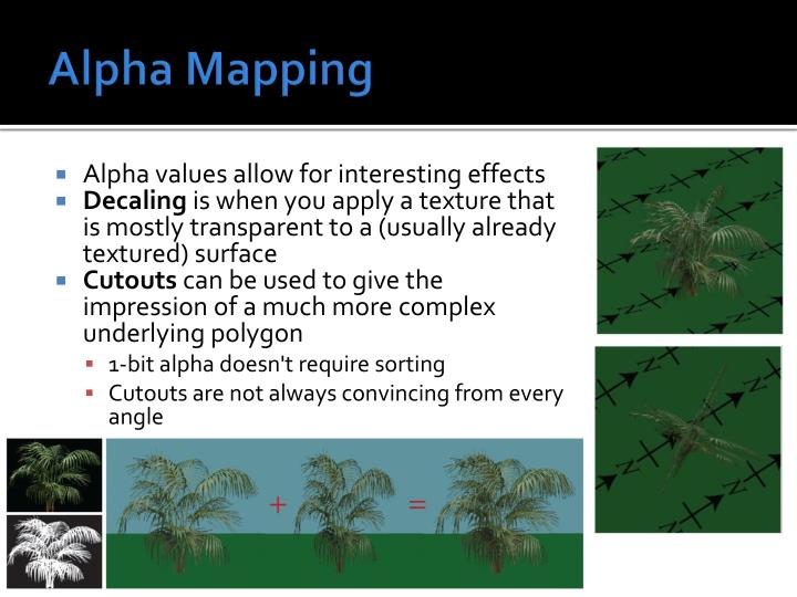 Alpha Mapping