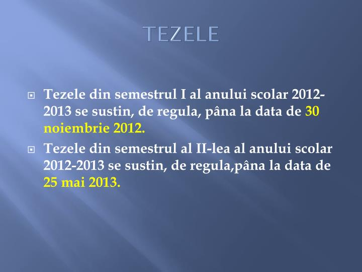 TEZELE
