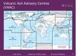 volcanic ash advisory centres vaac