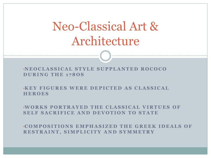 ppt neo classical art architecture powerpoint presentation id