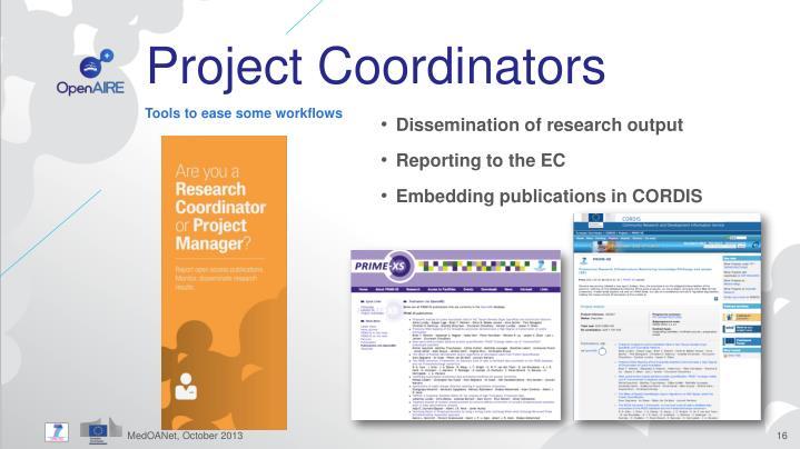 Project Coordinators
