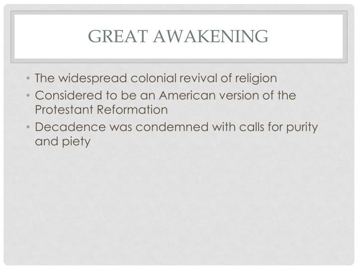 Great Awakening