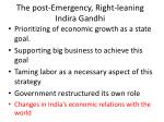 the post emergency right leaning indira gandhi5