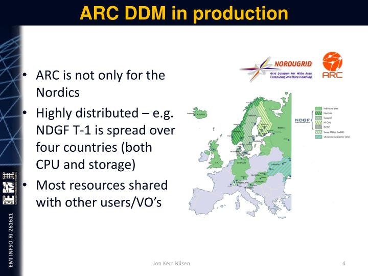 ARC DDM in production