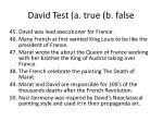 david test a true b false1
