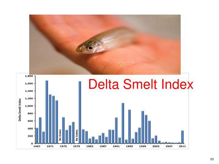 Delta Smelt Index