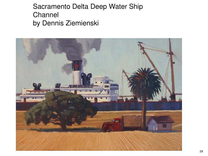 Sacramento Delta Deep Water Ship Channel