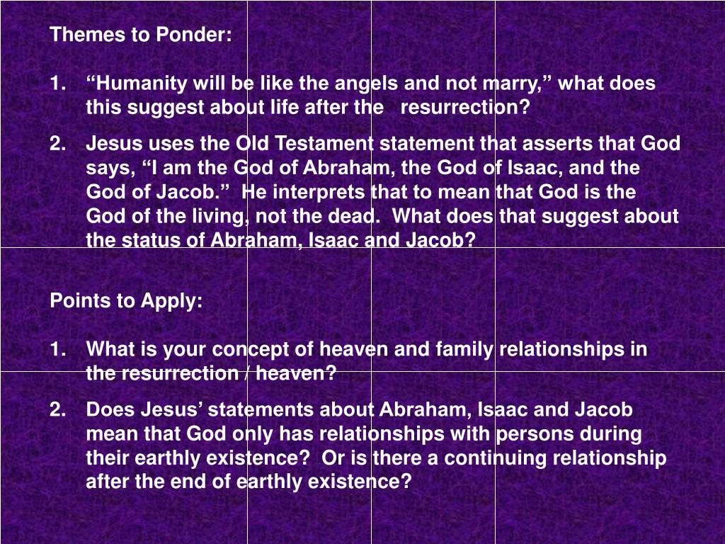 PPT - Bible Study Week Four of Lent 2014 PowerPoint